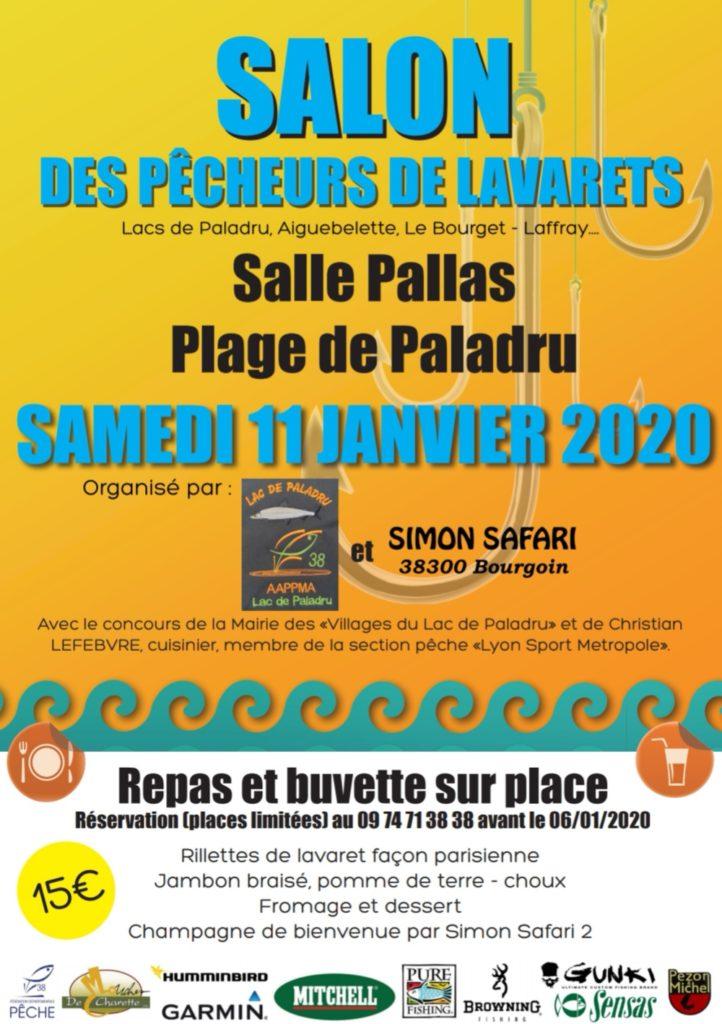 Salon pêche le 11/01/2020 salle Pallas